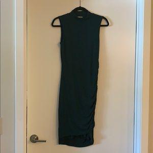 Halogen mock neck dress